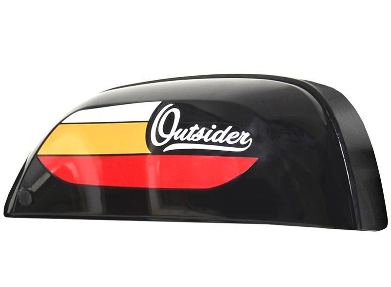 Outsider Tank Black