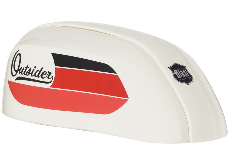 Outsider Tank  White
